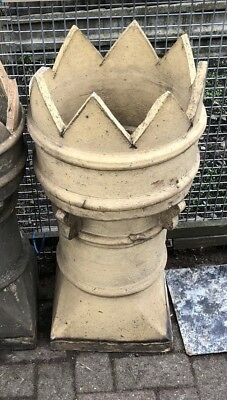 Victorian reclaimed crown chimney pot