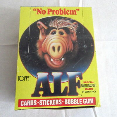 1987 Topps Alf Series 1 Unopened Box Beautiful Condition