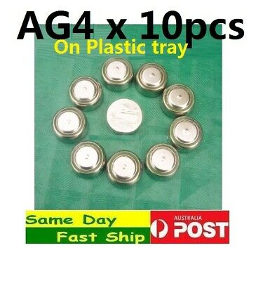 1 lot 10 pcs NEW AG4 LR626 LR66 177 BA 565 GP377 377A Button Cell Battery