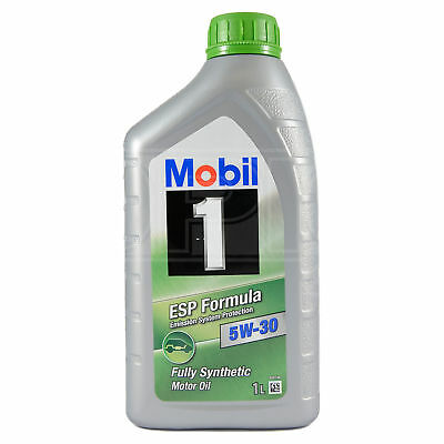 Mobil 1 ESP Formula 5W-30 Fully Synthetic Engine Oil 5W30 Mobil1 1 Litres 1L