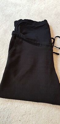 Maternity Trousers Black 16 Mothercare