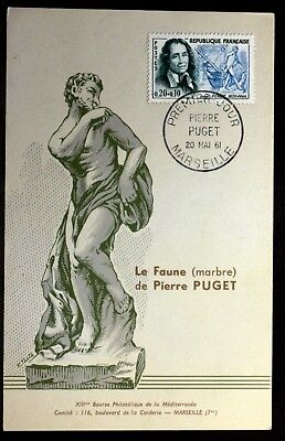 PIERRE PUGET FRANCE CPA Carte Postale Maximum Yt 1296 A