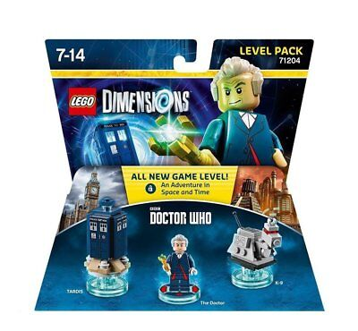LEGO Dimensions - Level Pack - Dr. Who (Lagerspuren an Verpackung!)