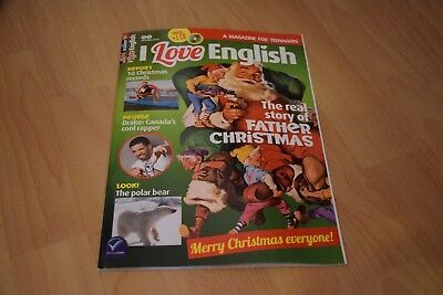 I love English - A magazine for Teenagers - mit CD - Dezember 2016