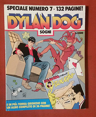 Dylan Dog Speciale n° 7 - Sogni (senza albetto)