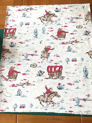 CATH KIDSTON  WHITBY WATERS COTTON DUCK FABRIC REMNANT 50x50cm