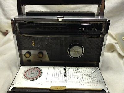 Vintage Zenith Royal 1000-D Trans-Oceanic Radio-- SEE MY YOUTUBE VIDEO !!