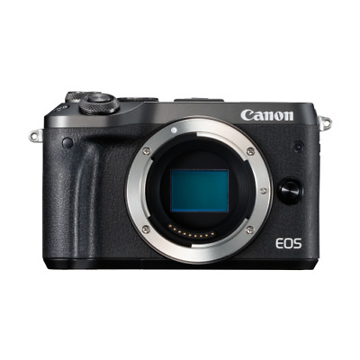 A - Canon EOS M6 Mirrorless Digital Camera Body Only: Black