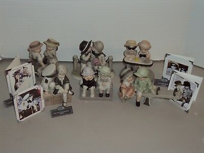 6 Enesco Kim Anderson Pretty As A Picture Figurines & Boxes You're Always There