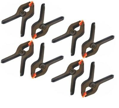 BRAND NEW 8 x PLASTIC SPRING CLAMPS GRIPS CLIPS MARKET STALL 2