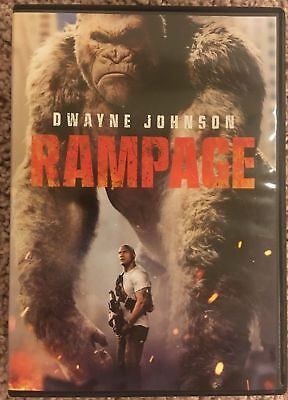 Rampage (DVD, 2018) - Dwayne-The Rock-Johnson