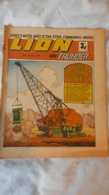 LION and THUNDER comic (1971)