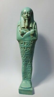 Beautiful Large Egyptian Ushabti Figure