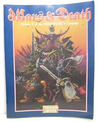 Warhammer Fantasy RPG WFRP -  Wars & Death Vol 11 of The Doomstones Campaign