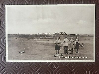GOLF POSTCARDS - SUtherland-ROYAL DORNOCH GOLF COURSE 1948