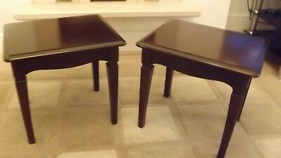 Stag minstral side/lamp tables