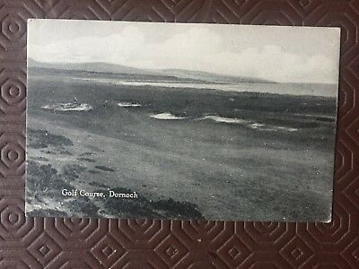 GOLF POSTCARDS - Sutherland-ROYAL DORNOCH GOLF COURSE-unused