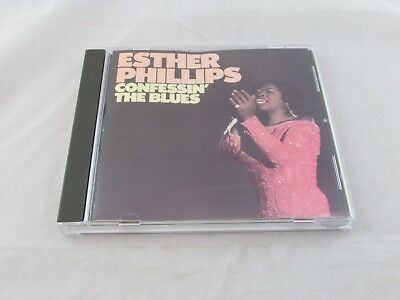 Confessin' the Blues by Esther Phillips (CD, 1976, Atlantic Records)