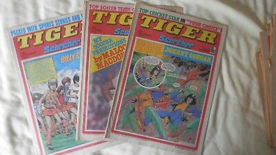 TIGER and SCORCHER 3 issues (1977)