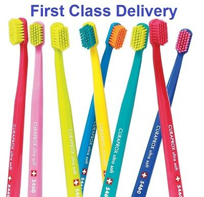 Curaprox 5460 Ultra Soft Toothbrush Trio(3) Pack for Sensitive Teeth UK seller