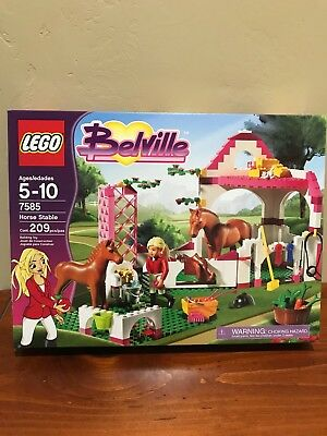 Lego 7585 Belville Horse Stable 99 Complete Instructions No Box