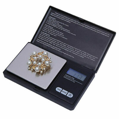 Mini Digital Electronic Pocket Gold Jewellery Weighing Scale 0.01G to 1000 Grams