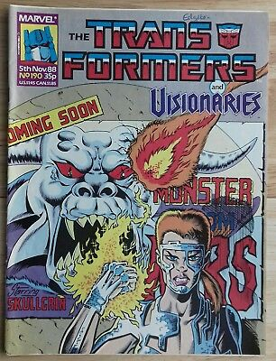 Transformers UK Comic Issue 190