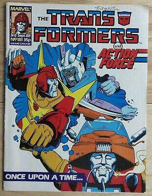 Transformers UK Comic Issue 181