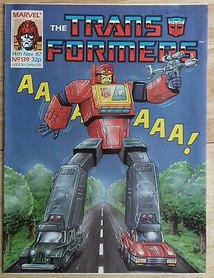 Transformers UK Comic Issue 139