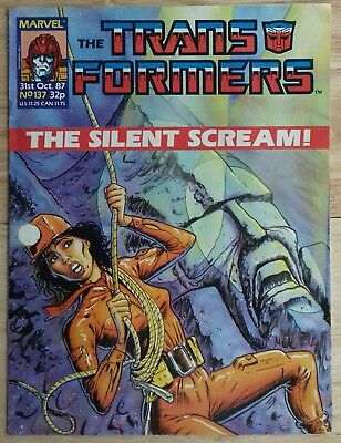Transformers UK Comic Issue 137