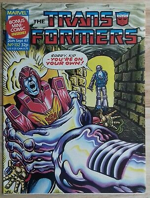 Transformers UK Comic Issue 132