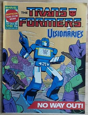 Transformers UK Comic Issue 185