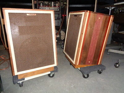 Estate* Custom Wood Covering Cabinets Vintage Klipsch Heresy Ii Speakers >U Tube