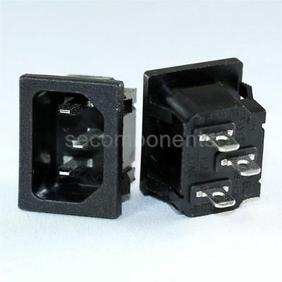Rong Feng SS-120 Male Receptacle AC Socket Power Plug Snap-In 15 A 250 V