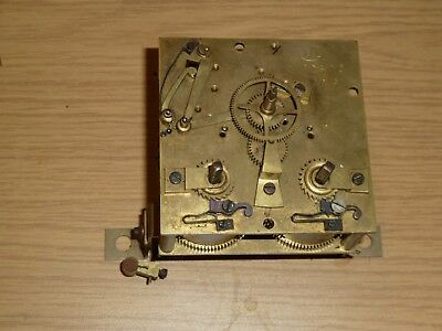 French wall clock movement c1900 for spares