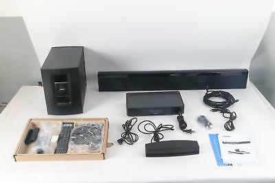 cf2f90371bfc BOSE SOUNDTOUCH 130 Home Theater System Black -  674.99