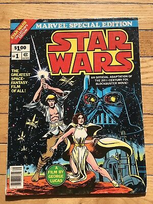Marvel 1977 Special Collector's Edition STAR WARS #1 Oversized Comic