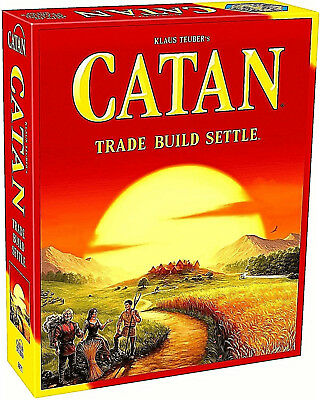 **Brand New, Sealed** Settlers of Catan 5th Edition - Trade, Build, Settle