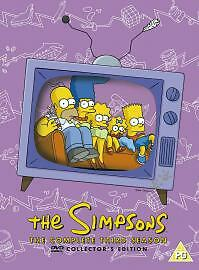 The Simpsons - Series 3 - Complete (DVD, 2003, 4-Disc Set)