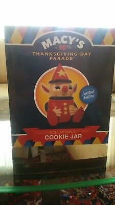 Macy's 90th Parade Cookie Jar