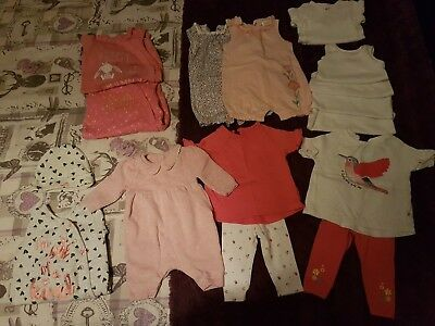 Baby Girls Newborn Clothes Bundle. First Size 7lb. Mothercare, Next, George.