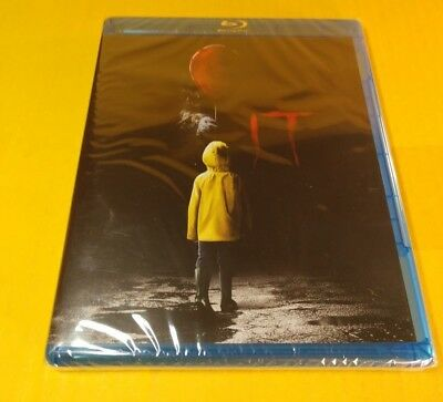 It (Blu-ray Disc,2017)Brand NEW (Sealed)-Free First Class Shipping with Tracking