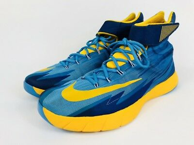new style fd41c d1b99 Nike Zoom HyperRev Vivid Blue University Gold 630913-400 Men s SZ 15