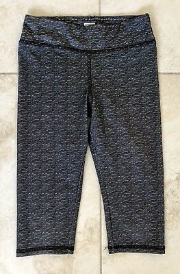Girl's Sz S/6-6X NEW BALANCE/NB fitted tights/capris Gray Dance/Gymnastics/Schoo