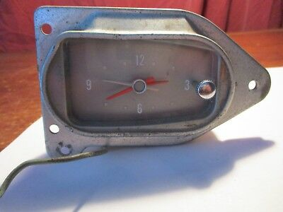1960 1961 Ford Galaxie Clock Untested! Read Description
