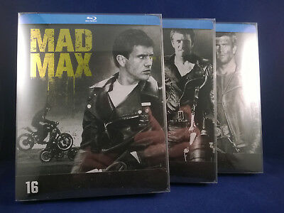 MAD MAX Trilogy - Original Releases - Steelbook - Bluray - French Exclusives