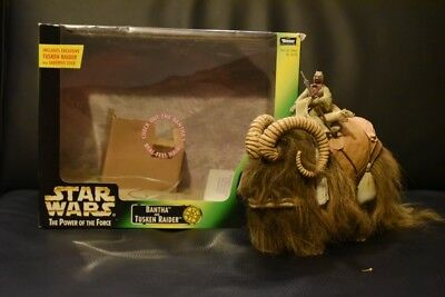 Bantha and Tusken Raider/ Power of the Force/ Kenner Hasbro 1998/ En boîte
