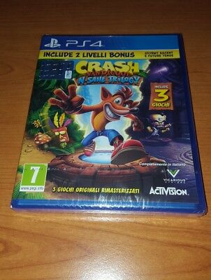 Sony PS4 ACTIVISION - BLIZZARD - CRASH BANDICOOT 2.0 PS4 IT