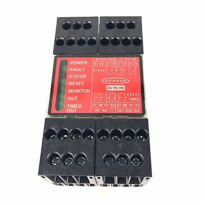 Banner ES-TN-1H5-71376  ES-TN-1H5 Safety Relay IP 20