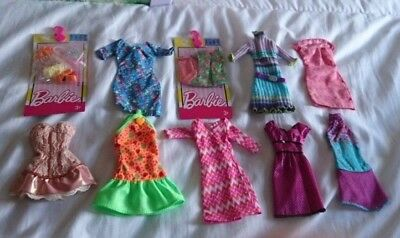 Barbie Pretty Bundle Of Dresses & Accessories